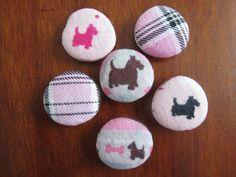 Scottish Terrier Magnets by yoginix on Etsy, $9.99
