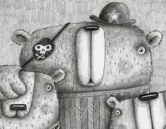 """Check out new work on my @Behance portfolio: """"!!!NEWS - Bears sketches""""…"""