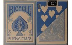 Bicycle Fashion Blue Playing Cards. #playingcards #poker #games