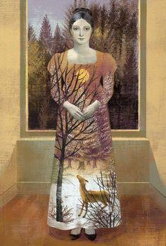 + Arte :   As pinturas de Anna e Elena Balbusso.