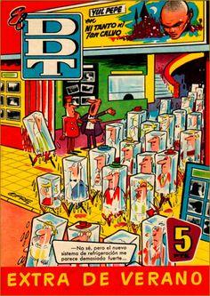 Tebeos antiguos-Tebeos de humor antiguos-Rafael Castillejo Comic Movies, Comic Books, Curious Cat, Magazines For Kids, Sweet Memories, Old Toys, Retro Vintage, Nostalgia, Comics