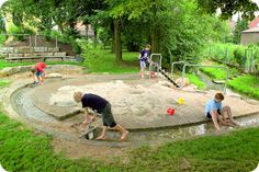 integrated water play