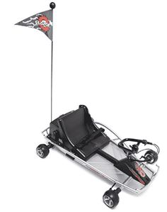 Razor Ground Force Electric Go-Kart (Silver). uitable for riders ages 8 and older, the sleek Ground Force go-kart attains a maximum speed of 12 miles per hour, making it the perfect kart for zipping around flat trails. Electric Motor Scooters, Pro Scooters, Electric Scooter, Electric Cars, Electric Skateboard, Razor Dune Buggy, Go Karts For Sale, Electric Go Kart, Mountain Bikes For Sale