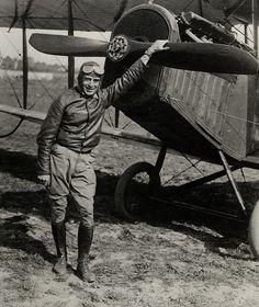Airmail pilot Eddie Gardner by Smithsonian Institution, via Flickr