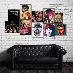 rock and roll home decor