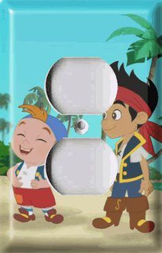 Jake and The Neverland Pirates 1 Light Switch Plate | eBay