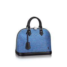 LOUIS VUITTON Alma Pm. #louisvuitton #bags #leather #lining