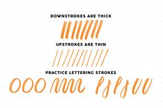 brush lettering for beginners, a step-by-step guide – Lettering Daily