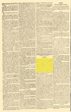 Read Morning Chronicle Newspaper Archives, Jul p. 2 with family history and genealogy records from London, Middlesex Newspaper Archives, Family History, Genealogy, London, Family Tree Chart