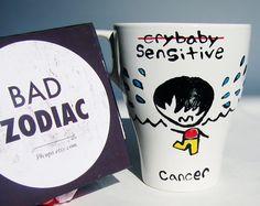 Funny Mugs / Aries Zodiac Mug / Rude / Cuppa by 39Cups on Etsy
