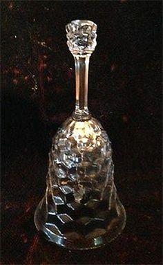 RP: Vintage Fostoria American Crystal Dinner Bell | eBay.com