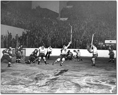 The 1942 Toronto Maple Leafs battle back to win Lord Stanley's Cup after being down 3 games to none. It is a feat that has yet to be repeated in the Stanley Cup Final.