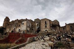 Craco - Abondoned village in Matera