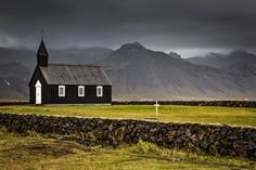 Black Church - Budir Iceland by cwaddell