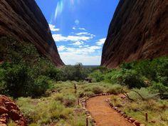 Kata Tjuta in the Northern Territory, Australia