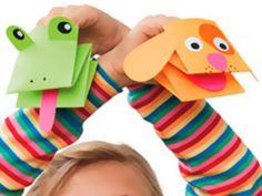 Una propuesta fácil y sencilla para hacer una marioneta con los más pequeños y aprovecharse de todos los beneficios que aportan las manualidades.
