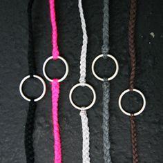 5 couleurs de bracelet porte bonheur