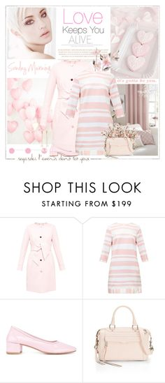 """""""Easy Like a Sunday Morning"""" by likepolyfashion ❤ liked on Polyvore featuring Lazy Days, Ted Baker, Maryam Nassir Zadeh, Rebecca Minkoff, Kenneth Jay Lane and twotonedress"""