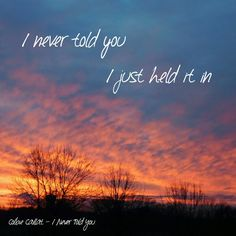 My Photo / Her Lyrics - Colbie Caillat - I Never Told You
