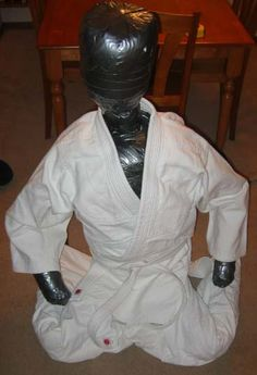 Homemade Grappling Dummy