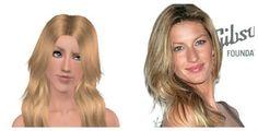 Gisele Bündchen on Sims 3  https://www.youtube.com/channel/UCYlOZLvFSXFORO0S4g4B-2w https://kitylindasims3.blogspot.com