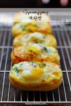 Gyeranppang by Amyq, Korean Egg Bread