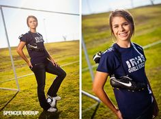 Soccer Senior Picture Ideas | Soccer!... props to Spencer Boerup photography | Senior Picture Ideas