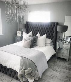 Home Remodel Bedroom .Home Remodel Bedroom Grey Bedroom Decor, Stylish Bedroom, Room Ideas Bedroom, Home Bedroom, Modern Bedroom, Master Bedroom, Ikea Bedroom, Grey Bedroom Design, Quirky Bedroom