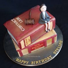 Birthday Cake Images For Advocate : Legal Advice Lawyer Cake Corporate Cakes Pinterest ...