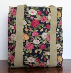 Handmade womens handbag suitable for ipads  by HectorsHouseCraft, £15.00