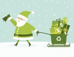Holiday Recycling Tips... Happy Holidays Green Billikens!