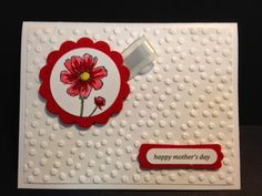 Bloom with Hope, Mother's Day Card, Stampin' Up!, Rubber Stamping, Handmade Cards