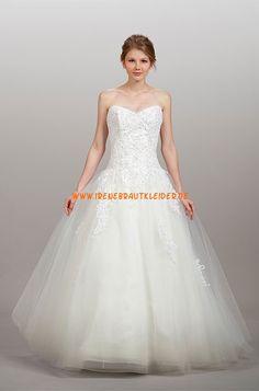 Liancarlo Glamouröse Dramatische Hochzeitskleider aus Softnetz