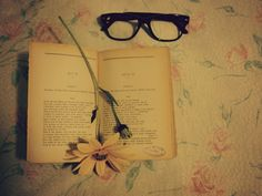 Flower in book