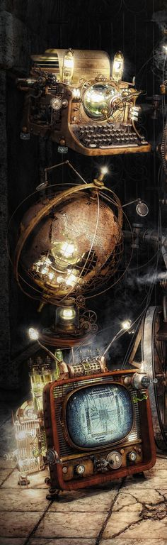 Can't help but love a bit of Steampunk digi art