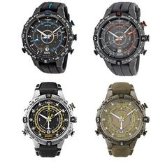 Timex Expedition E-Tide Compass Mens Sports Watch