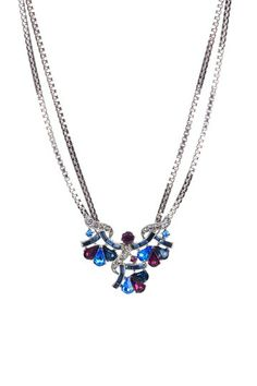 Beautiful Baubles: Ben-Amun Exclusives on HauteLook-Swarovski Multi Color Pendant Necklace
