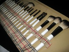 #musthave #brushes #burberry #makeup #girly #love #beauty #pinterest #tumblr #summer