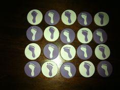 Pedicure cupcakes gemaakt door Tataart!