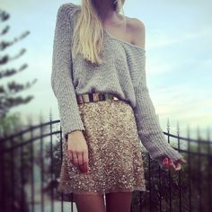 love off the shoulder sweaters♥