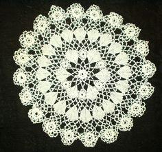 Vintage Irish Crochet doily.