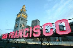 San Francisco Ferry Building has the best farmer's market in the city. Visit on Saturday mornings for fresh foods and more.
