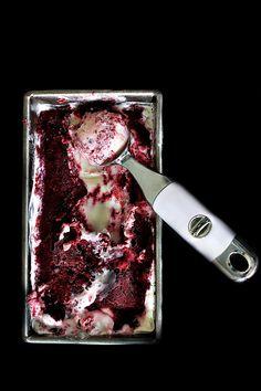 Sour Cherry Frozen Yogurt + a @kitchenaidusa Giveaway
