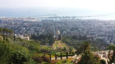 Haifa - Israel Haifa Israel, Paris Skyline, Travel, Viajes, Destinations, Traveling, Trips