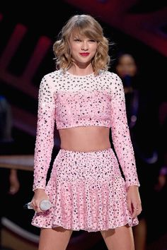 Taylor Swift performs on stage at the 2014 iHeartRadio Music Festival at the MGM Grand Garden Arena in Las Vegas, Nevada on 09-19-2014.