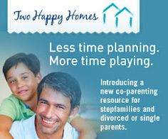 Two Happy Homes - Introducing a new co-parenting resource for stepfamilies and divorced or single parents. It's free!