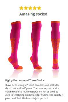 05caec6f9c5 Over the Knee Compression Socks $24 Compression Hose, Compression Stockings,  Nursing Compression Socks,