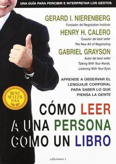 """Cover of """"Cómo leer a una persona como un libro gerard i nierenberg freelibros org"""""""