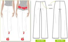Types Of Women Trousers Pants Styles To Sew | How To Make Pants For Ladies