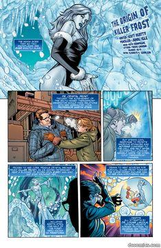 The Origin of Killer Frost on the DC Comics web site